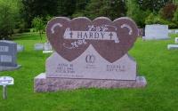 Hardy double heart 2008
