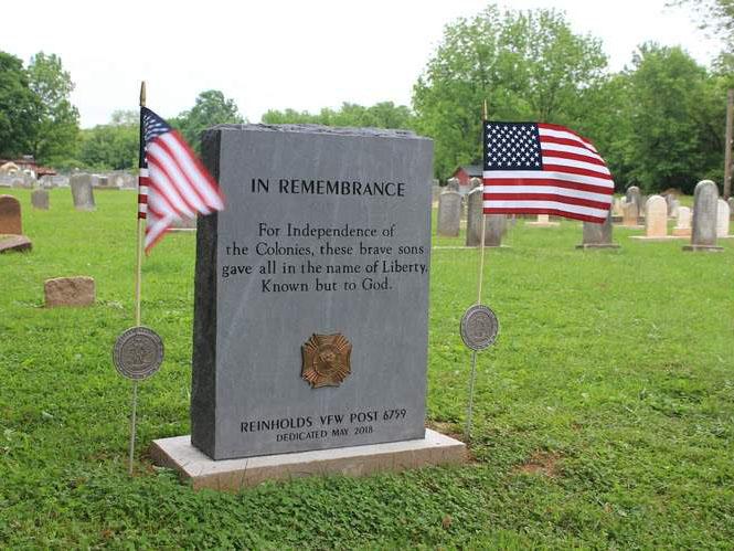 Reinholds VFM Memorial